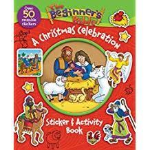 Beginner's Bible Christmas Activity Sticker Book 6706