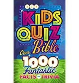 NIV Kids Quiz Bible 3222