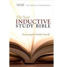 NASB New Inductive Study Bible-Hardcover 8014