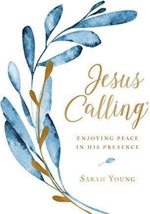 Jesus Calling, Large Text Cloth Botanical 9286