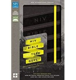 NIV Bible for Teen Guys 3025