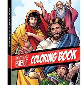 Cariello, Sergio Action Bible Coloring Book 5903