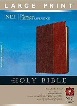 NLT Premium Slimline Reference Bible Large Print 3986