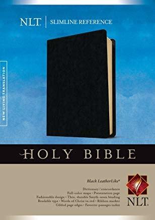 NLT Slimline Reference Bible  6634