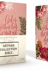 NIV Artisan Collection Bible, Pink Floral  3338