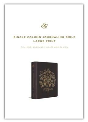 ESV Single Column Journaling Bible 4758