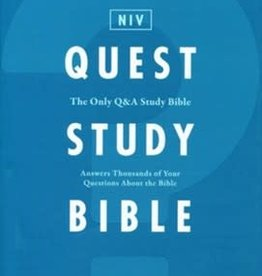 NIV Quest Study Bible Hardcover 0818