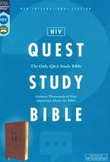 NIV Quest Study Bible Brown 0849
