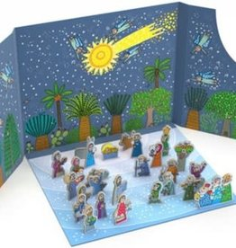 Birth of Jesus Advent Calendar  8596