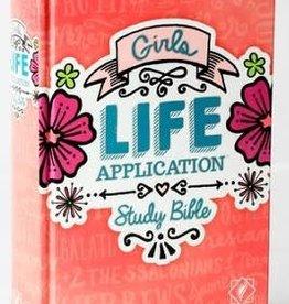 Tyndale NLT Girls Life Application Bible 7818