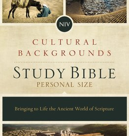NIV Cultural Backgrounds Study Bible Red Letter 7849