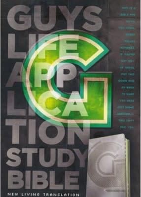 Guys Life Application Study Bible NLT 5120