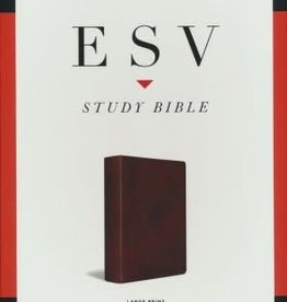 ESV Study Bible Large Print, walnut 4710