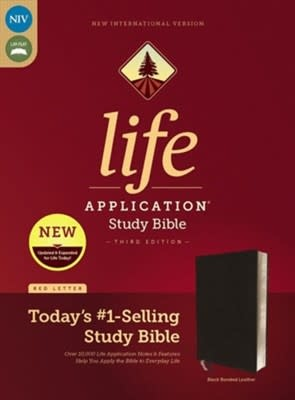 NIV Life Application Study Bible black index 2782
