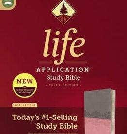 NIV Life Application Study Bible  gray/pink 2843