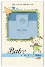 NIV Baby Gift Bible - blue 4267