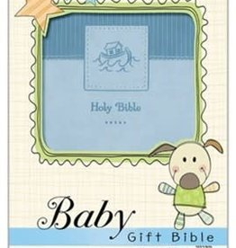 NIV Baby Gift Bible - blue 4267