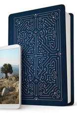 NLT Filament Bible- navy and rose gold  4424