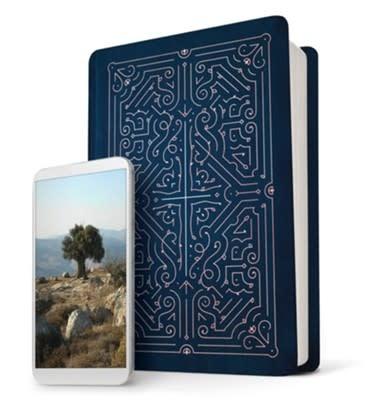 NLT Filament Bible- Blue  4424