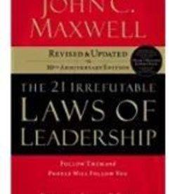 Maxwell, John 21 Irrefutable Laws of Leadership 8374