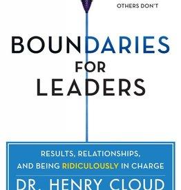 Cloud, Henry Boundaries for Leaders