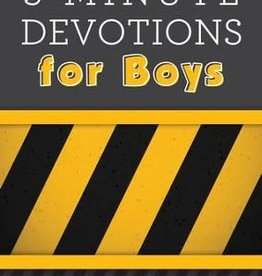 3-Minute Devotions for Boys 6782