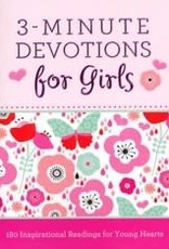 3-Minute Devotions for Girls 6389