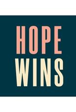 Hope Wins Car Magnet