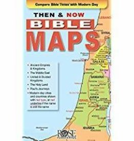 Rose Publishing Then & Now Bible Maps 1300