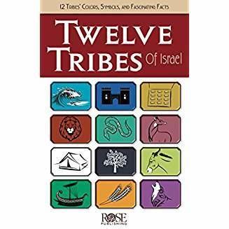 Rose Publishing Twelve Tribes of Israel 9160
