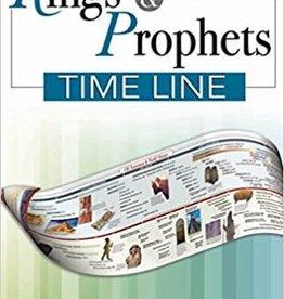 Rose Publishing Kings & Prophets Timeline Pamphlet 4618