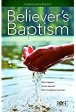 Believer's Baptism 9115