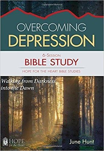 Hunt, June Overcoming Depression Bible Study  3901