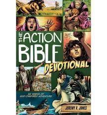 Jones, Jeremy Action Bible Devotional 7274