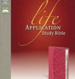 Zondervan NIV Life Application Study Bible, pink 4559