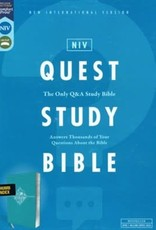 NIV Quest Study Bible, Teal Index 0870