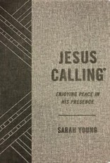 Jesus Calling - Textured Gray Leathersoft 5294