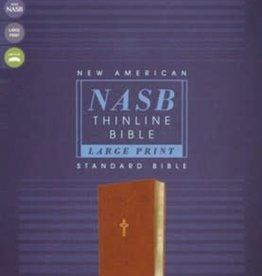 NASB Thinline, Large Print, brown 1020