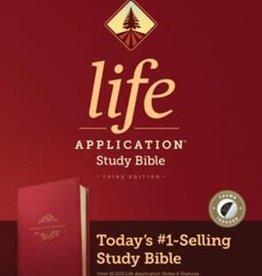 NIV Life Application Study Bible berry 9444