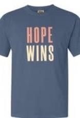 Hope Wins T-Shirt - Blue Jean