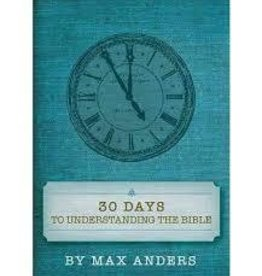 Anders, Max 30 Days to Understanding the Bible 5949