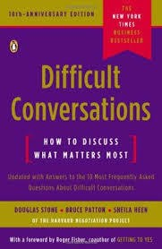 Stone, Douglas Difficult Conversations 8442