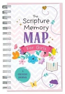 Scripture Memory Map for Girls  0865