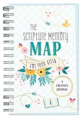Scripture Memory Map for Teen Girls 0872