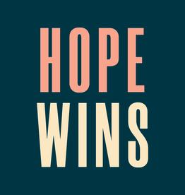 Hope Wins Sticker