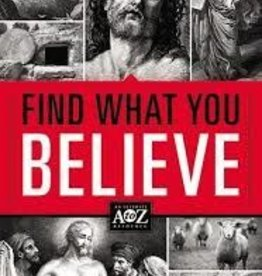ThomasNelson Publishing Find What You Believe 7848