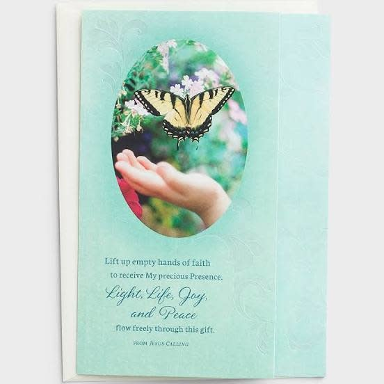 Jesus Calling Card - Difficult Times 0079