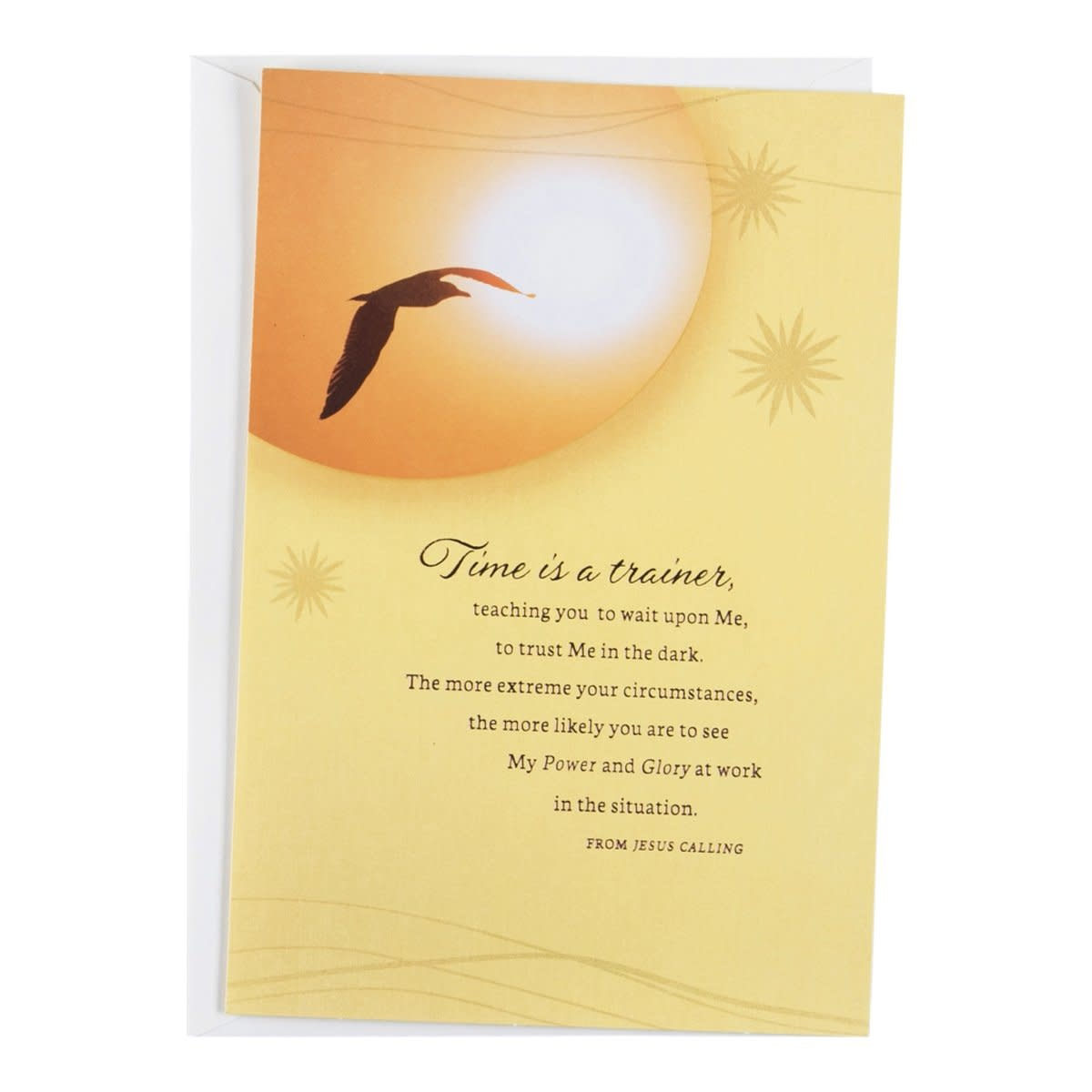 Jesus Calling Card - Difficult Time - 0786