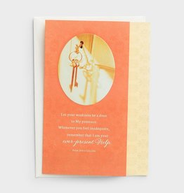 Jesus Calling Card - Praying for You  0816