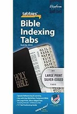 Tabbies Bible Tabs Indexing Large Print Silver-edged 3447